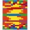W30 Regenbogen-farbspiel II 30x36